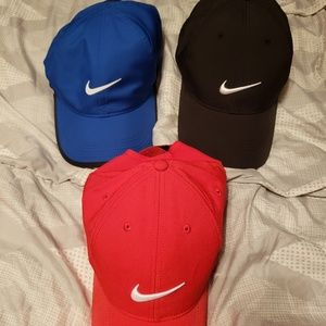 Nike Dri Fit Hats 3 for $25